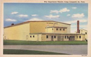 War Department Theatre Camp Campbell KY, Kentucky Linen