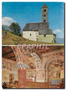 Postcard Modern Chlesa Negrentino Prugiasco Blenio Valle