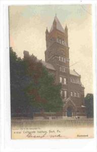 Collegiate Institute, York, Pennsylvania, PU-1906
