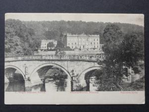 Derbyshire: Chatsworth House c1904 - by Valentines for F.Wright Stationer Buxton
