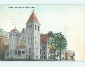 Divided-Back CHURCH SCENE Wilmington Ohio OH L6143