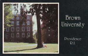 Rhode Island Providence Campus Scene Brown University