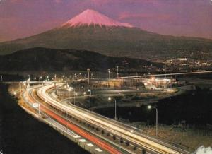 Japan Tomei Highway and Mt Fuji 1998