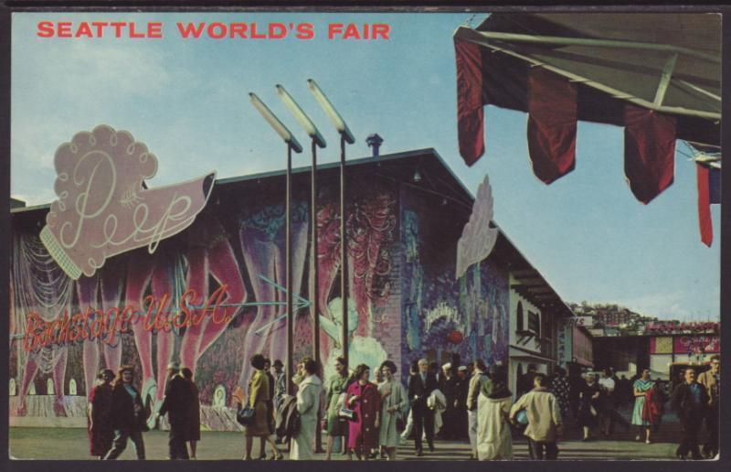 Back Stage USA,Seattle World's Fair
