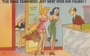The Bank Examiners just went over our Figures! 1930-40s