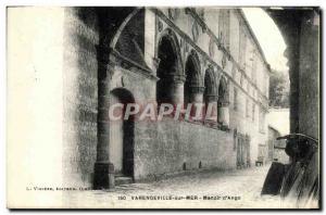 Old Postcard Varengeville Sur Mer Manoir d'Ango Velo