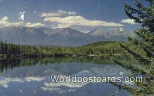 Canada Jasper National Park Pyramid Lake
