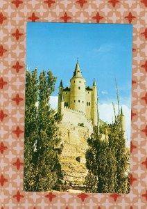 Alcazar, Fortress Palace, Castle In Spain Vtg Postcard Segovia, American Export
