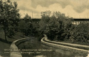 DE - Wilmington. Washington Street Bridge, South Race