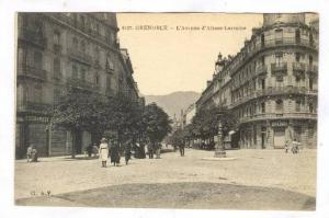 Grenoble (Isere), France, 1900-10s ; L'avenue d'Alsac-Lorraine
