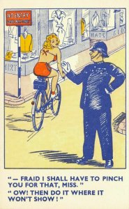 Comic Seaside Humour Postcards  I shall have to pinch you , William Foster EP2