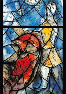 Polarity in Creation Woman and Bird Window, Pfarrkirche St. Stephan Mainz