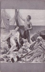 The Fisherman's Family Puvis De Chavannes Chicago Art Museum