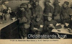 From an American Red Cross L.O.C. Canteen In France Red Cross Unused minor co...