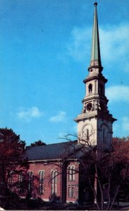 Maine Bangor Unitarian Church Main and Union Streets
