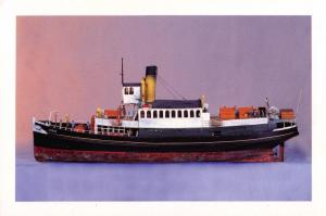 Postcard COBAR model Wellington Harbour Ferry NEW ZEALAND Museum of Wellington