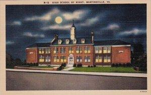 High School By Night Martinsville Virginia
