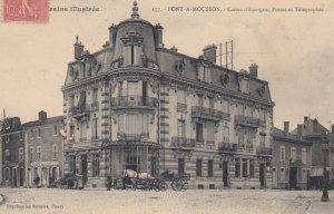 PONT A MOUSSON, Meurthe Et Moselle, France, 1906 ; Caisse d'Epargne , Postes ...