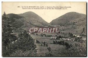 Old Postcard Bussang The Old Pass Frontiere Franco German Between Russiers ra...