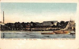 St Paul Minnesota Wildwood White Bear Lake Antique Postcard K39122