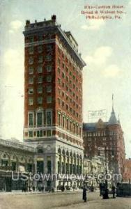 Ritz-Carlton Hotel Philadelphia PA 1913