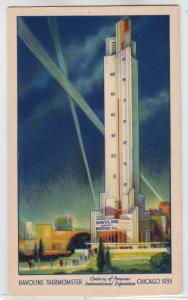 Chicago Worlds Fair - Havoline Thermometer