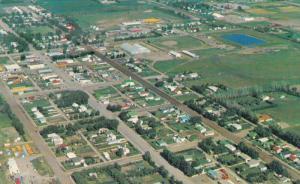 Aerial view, VAUXHALL, Alberta, Canada, 40-60´s