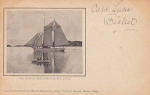 The Fukuin Maru , Inland Sea , Japan , 1911