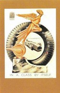 Nostalgia Postcard 1931 Art Deco Dunlop Advertisement, Reproduction Card NS7