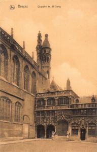 Belgium Bruges Chapelle du St Sang Postcard