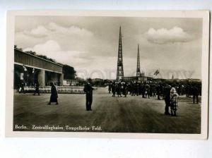 206538 GERMANY BERLIN Central airport Vintage photo postcard