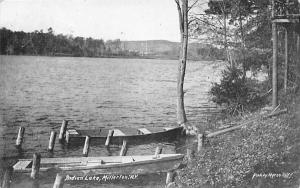 Indian Lake Millerton, New York Postcard
