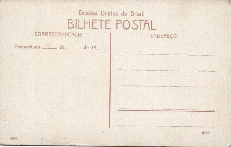 brazil, RECIFE PERNAMBUCO, Ponte Mauricio de Nassau (1910s)