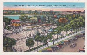 Florida Saint Petersburg Shuffleboard Courts The Sunshine City