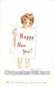 Woodworth, Julia Postcard Post Card Old Vintage Antique writing on back
