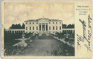 CARTOLINA d'Epoca TREVISO   -  Vedelago: Cavasagra  1901