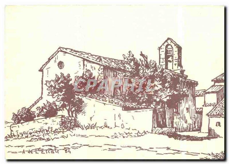 Modern Postcard La Sainte Baume terms of Aups Var XI century Romanesque church