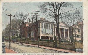 STAUNTON , Virginia , 1906 ; Mary Baldwin Seminary