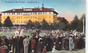 Gymkhana at The Carolina, Pinehurst, N.C., Hand Colored Postcard, Unused