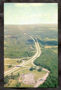 5327 - Postmark LEROY NY 1964 State Thruway & Service Plaza