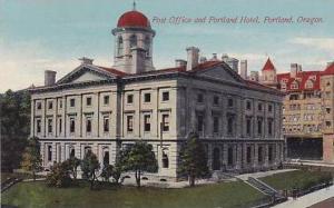 Oregon Portland Hotel Portland &  Post Office
