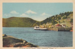 TADOUSSAC, Quebec, Canada, 1930-40s; Ferry Traversier Jacques Cartier