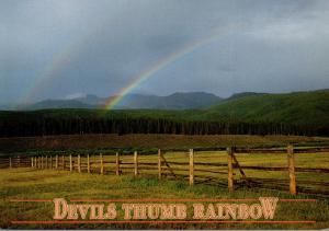 Colorado Tabernash Devils Thumb Ranch Rainbow