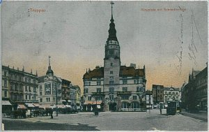 VINTAGE POSTCARD:  CZECH REPUBLIC -   Opava Troppau  1908