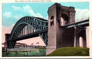 New York City The Hell Gate Bridge