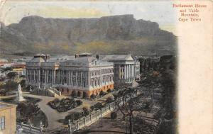 South Africa Cape Town, Parliament House and Table Mountain