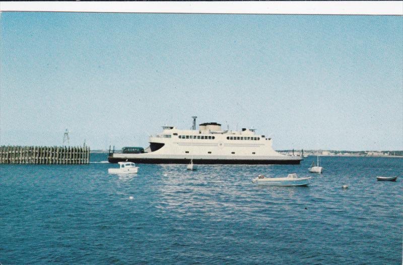 Seen Leaving The Jamestown Dock, Ferry, JAMESTOWN, Rhode Island, 1940-1960s