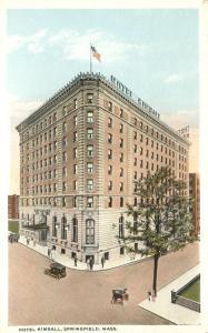 Hotel Kimball - Springfield MA, Massachusetts - WB