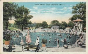 HANNIBAL , Missouri,1910s-30s; Indian Mound Park Swimming Pool