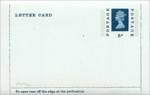 Entier Postal Stationery Postal Britain Great Britain Machin 5d